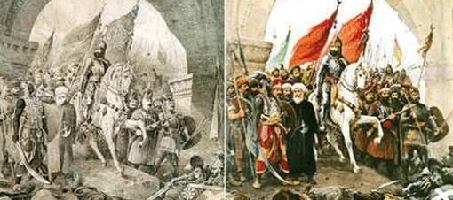 Fatih'in ünlü tablosu Hasan Rıza'nın çıktı