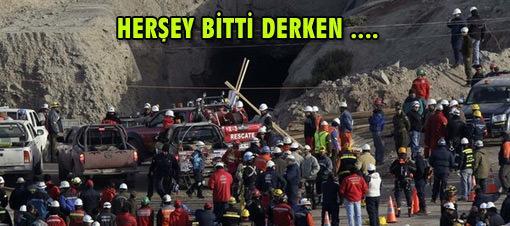 33 madenci 17 gün sonra 'Canlıyız' dedi