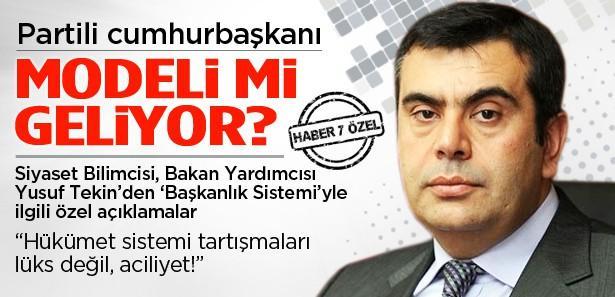 'AK Parti başkanlık sistemini 2001'de açıklamıştı'