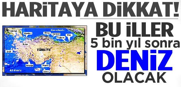 Buzullar eridiğinde Türkiye'de hangi şehirler etkilenecek?
