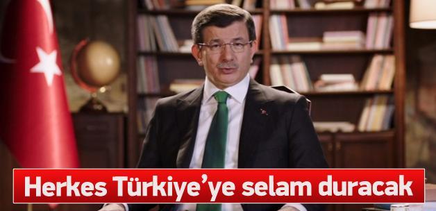 Davutoğlu'nun 'Yeni Türkiye Yolunda' konuşması