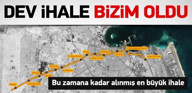 Dev ihaleyi Türk şirketleri kazandı