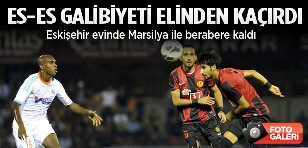 Eskişehirspor evinde galibiyeti kaçırdı: 1-1
