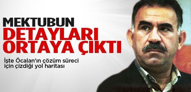 İşte Abdullah Öcalan'ın mektubu