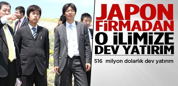 Japonlardan Çankırı'ya dev yatırım