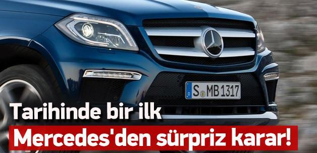 Mercedes'den sürpriz karar! Tarihinde ilk