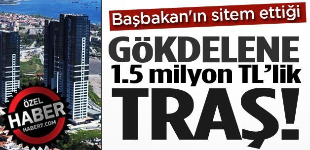Milyon dolarlık lüks konutlara 1.5 milyon TL'lik traş!