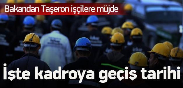 Seçim sonrası taşeron işçilere kadro geliyor