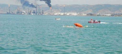 Açık deniz yüzme yarışları sona erdi