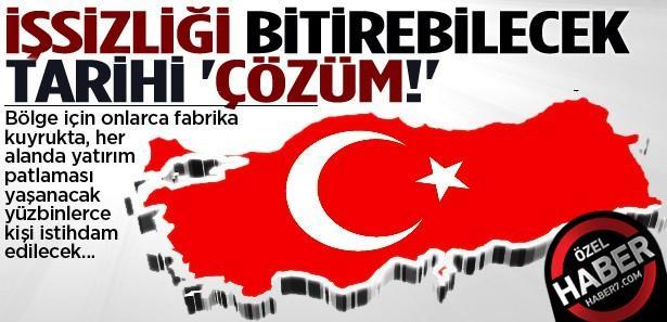 Türkiye'deki işsizliği bitirecek tarihi 'Çözüm!'