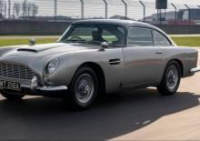 James Bond'un efsane aracı Aston Martin DB5, 50 yıl sonra yeniden üretildi
