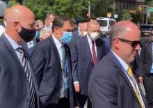 Başkan Erdoğan, BM Genel Merkezi'ne yürüyerek gitti
